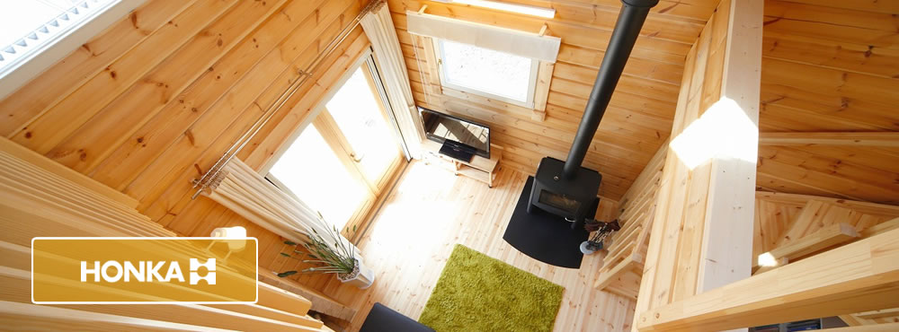 フィンランドのログハウス